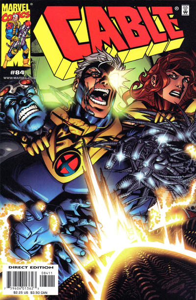 Cover for Cable (Marvel, 1993 series) #84 [Direct Edition]