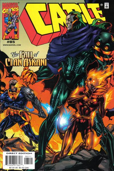 Cover for Cable (Marvel, 1993 series) #85 [Direct Edition]