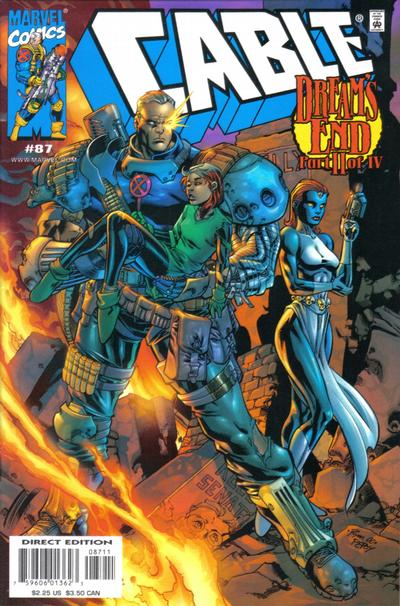 Cover for Cable (Marvel, 1993 series) #87 [Direct Edition]