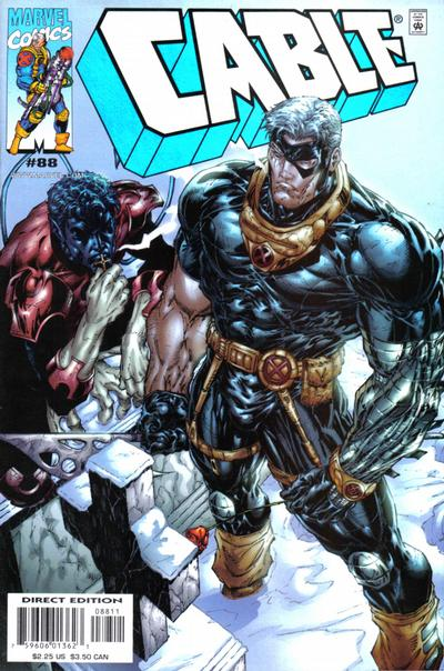 Cover for Cable (Marvel, 1993 series) #88 [Newsstand]