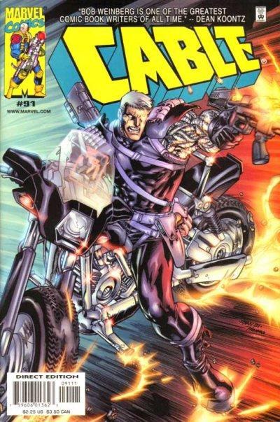 Cover for Cable (Marvel, 1993 series) #91 [Direct Edition]