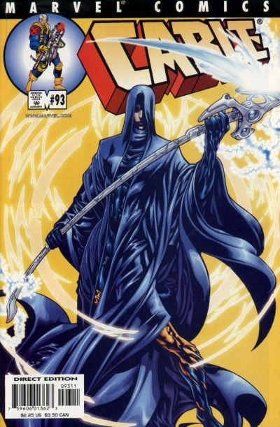 Cover for Cable (Marvel, 1993 series) #93 [Direct Edition]