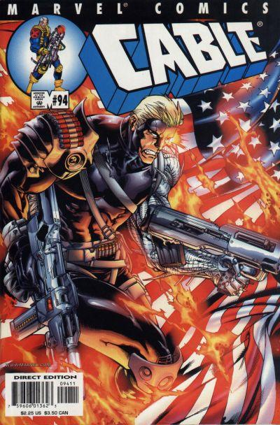 Cover for Cable (Marvel, 1993 series) #94 [Direct Edition]