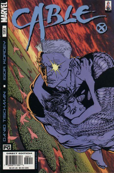 Cover for Cable (Marvel, 1993 series) #99 [Direct Edition]