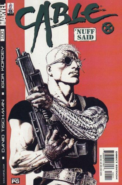 Cover for Cable (Marvel, 1993 series) #100 [Direct Edition]