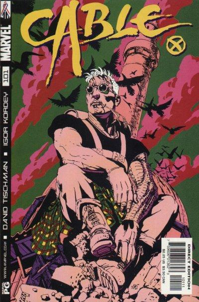 Cover for Cable (Marvel, 1993 series) #101 [Direct Edition]