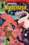 Cover for Nightmask (Marvel, 1986 series) #12 [newsstand]