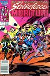 Cover for Strikeforce: Morituri (Marvel, 1986 series) #3 [Newsstand]
