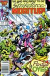 Cover for Strikeforce: Morituri (Marvel, 1986 series) #4 [Newsstand]