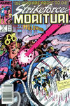 Cover for Strikeforce: Morituri (Marvel, 1986 series) #6 [Newsstand]
