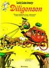 Cover Thumbnail for Lucky Lukes äventyr / Lucky Luke klassiker (1971 series) #1 - Diligensen [2:a upplagan (1972)]