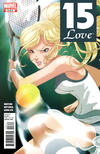 Cover for 15-Love (Marvel, 2011 series) #3