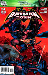 Cover Thumbnail for Batman and Robin (2009 series) #24 [J. G. Jones Variant Cover]