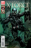 Cover Thumbnail for Uncanny X-Force (2010 series) #12 [I Am Captain America Variant]