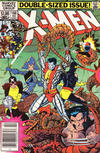 Cover Thumbnail for The Uncanny X-Men (1981 series) #166 [Newsstand]