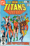 Cover for The New Teen Titans (DC, 1980 series) #9 [Direct]