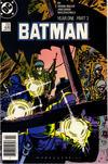 Cover for Batman (DC, 1940 series) #406 [Newsstand]