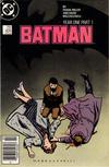 Cover for Batman (DC, 1940 series) #404 [Newsstand]