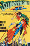 Cover for Supermann (Semic, 1977 series) #1/1978