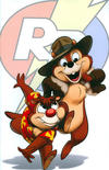 Cover for Chip 'n' Dale Rescue Rangers (Boom! Studios, 2010 series) #2 [Cover C]