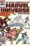 Cover for The Official Handbook of the Marvel Universe (Marvel, 1985 series) #6 [Newsstand]