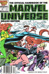 Cover for The Official Handbook of the Marvel Universe (Marvel, 1985 series) #8 [Newsstand]