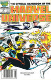 Cover Thumbnail for The Official Handbook of the Marvel Universe (1985 series) #9 [Newsstand]