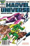 Cover for The Official Handbook of the Marvel Universe (Marvel, 1985 series) #7 [Newsstand]