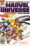 Cover for The Official Handbook of the Marvel Universe (Marvel, 1985 series) #10 [Newsstand]