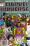 Cover Thumbnail for The Official Handbook of the Marvel Universe (1985 series) #17 [Newsstand]