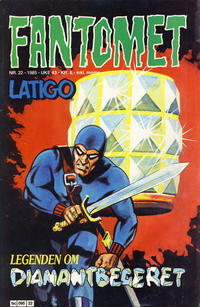 Cover Thumbnail for Fantomet (Semic, 1976 series) #22/1985
