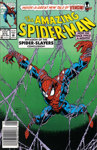 Cover Thumbnail for The Amazing Spider-Man (Marvel, 1963 series) #373 [Newsstand Edition]