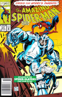 Cover Thumbnail for The Amazing Spider-Man (Marvel, 1963 series) #371 [Newsstand]
