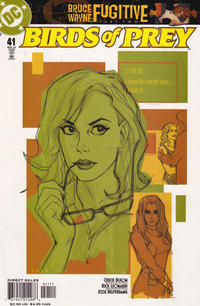 Cover Thumbnail for Birds of Prey (DC, 1999 series) #41