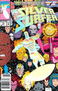 Cover Thumbnail for Silver Surfer (Marvel, 1987 series) #75 [Newsstand Edition]