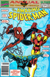 Cover Thumbnail for The Amazing Spider-Man Annual (Marvel, 1964 series) #25 [Newsstand]