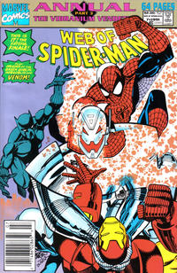 Cover Thumbnail for Web of Spider-Man Annual (Marvel, 1985 series) #7 [Newsstand]