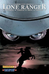 Cover Thumbnail for The Lone Ranger (Dynamite Entertainment, 2006 series) #1 [Baltimore Comic Con]