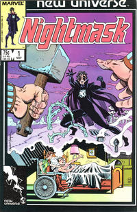 Cover Thumbnail for Nightmask (Marvel, 1986 series) #1 [Direct]