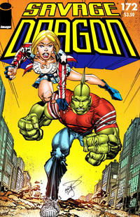 Cover for Savage Dragon (Image, 1993 series) #172