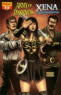 Cover Thumbnail for Army of Darkness / Xena (Dynamite Entertainment, 2008 series) #2 [Fabiano Neves Cover]