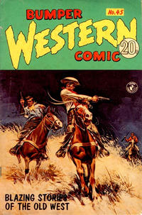 Cover Thumbnail for Bumper Western Comic (K. G. Murray, 1959 series) #45