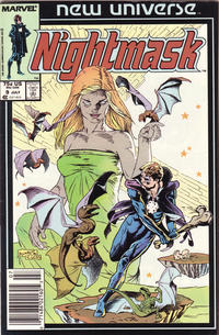 Cover Thumbnail for Nightmask (Marvel, 1986 series) #9 [Newsstand]