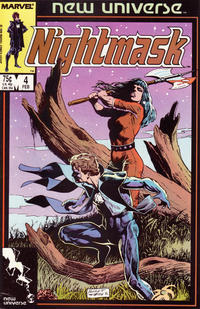 Cover Thumbnail for Nightmask (Marvel, 1986 series) #4 [Direct]