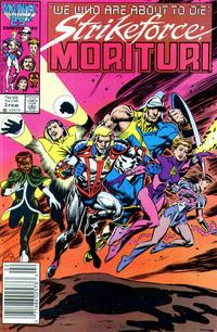Cover Thumbnail for Strikeforce: Morituri (Marvel, 1986 series) #3 [Newsstand Edition]