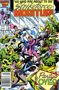 Cover Thumbnail for Strikeforce: Morituri (Marvel, 1986 series) #4 [Newsstand Edition]
