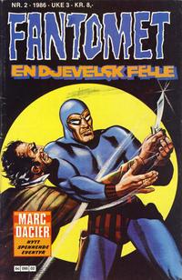 Cover Thumbnail for Fantomet (Semic, 1976 series) #2/1986