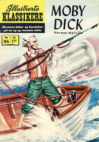Cover for Illustrerte Klassikere [Classics Illustrated] (Illustrerte Klassikere / Williams Forlag, 1957 series) #86 - Moby Dick [2. opplag]