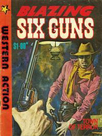 Cover Thumbnail for Blazing Six Guns (Gredown, 1984 ? series) #[nn]