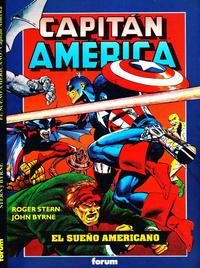Cover Thumbnail for Obras Maestras (Planeta DeAgostini, 1991 series) #10 - Capitán América: El Sueño Americano
